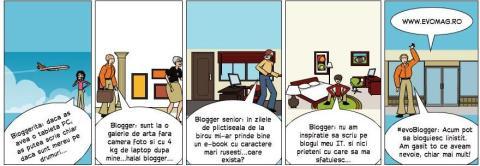 Evomag- pentru linistea bloggerilor