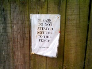 no-signs-on-fence